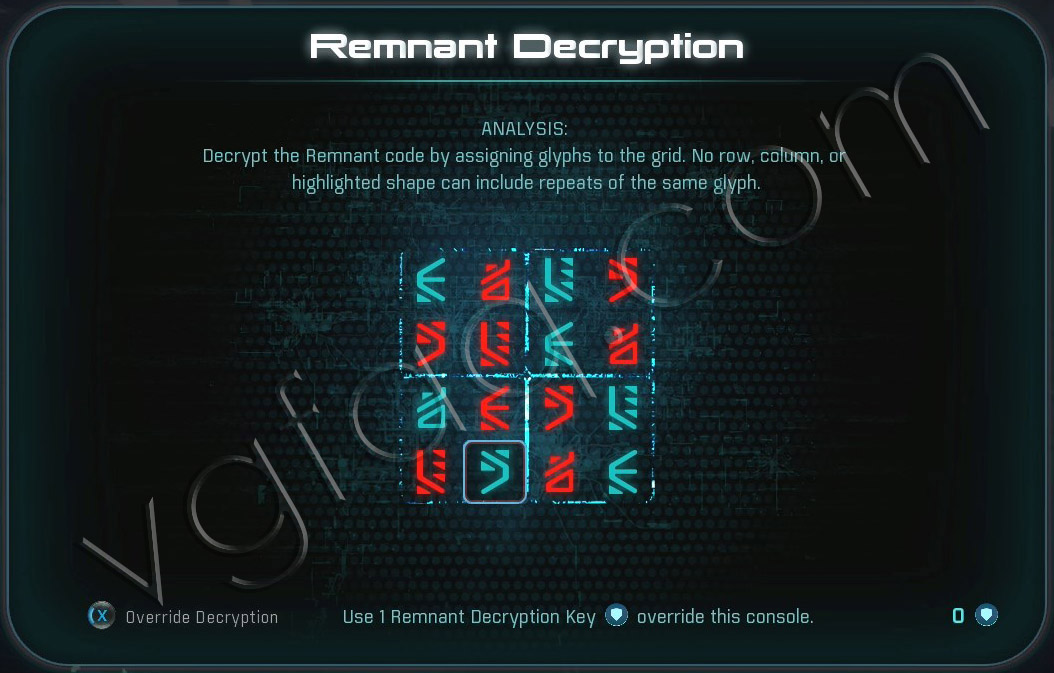 Mass Effect Andromeda Remnant Decryption Puzzle - Eos Monolith - A Better Beginning