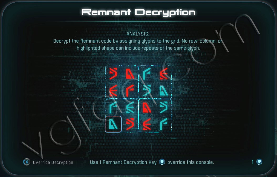 Mass Effect Andromeda Remnant Decryption Puzzle - Eos Remnant Vault - A Better Beginning