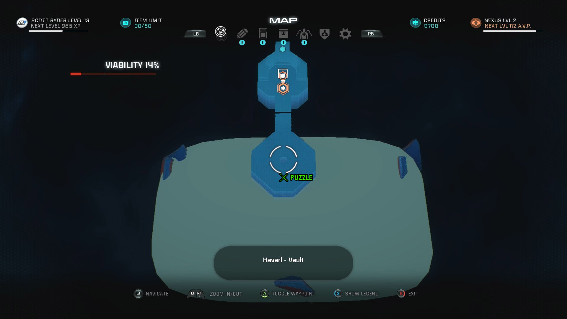 Mass Effect Andromeda Remnant Decryption Puzzle Location - Havarl Remnant Vault - A Dying Planet