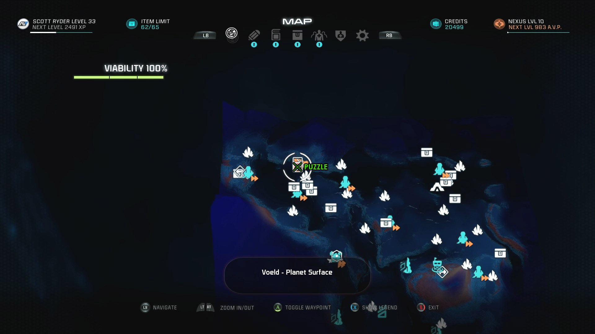 Mass Effect Andromeda Remnant Decryption Puzzle Location - Voeld - Task Subjugation
