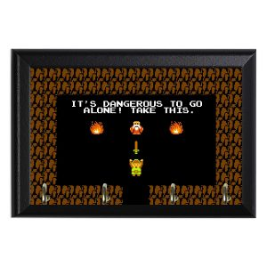 Awesome Retro Legend of Zelda Decorative Wall Plaque Key Holder