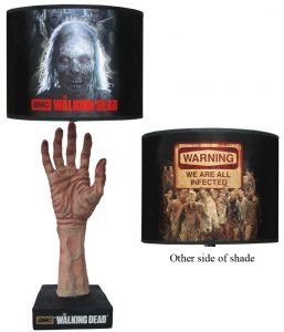 Amazing Walking Dead Zombie Table Lamp