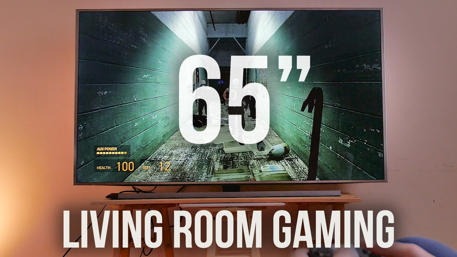 insane gaming on 65 inch 4k tv vgfaq