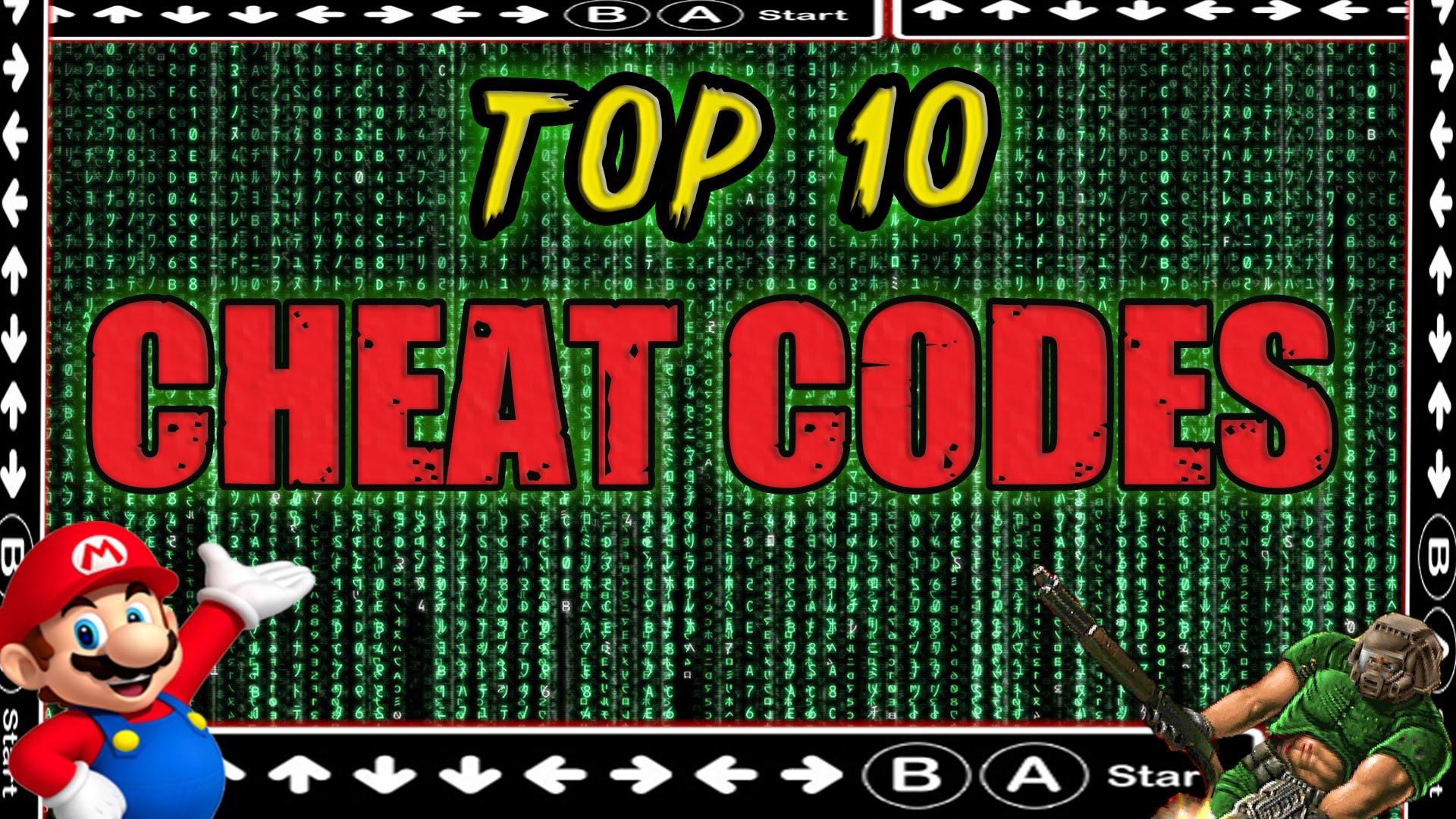 Top 10 <b>Cheat Codes</b> in <b>Video</b> Games - VGFAQ