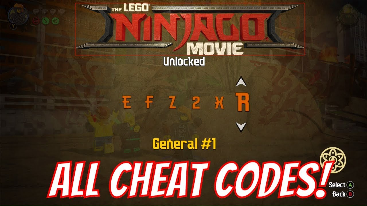 The <b>LEGO</b> Ninjago <b>Movie</b> Video Game All <b>Cheat Codes</b> &amp; How To Find ...
